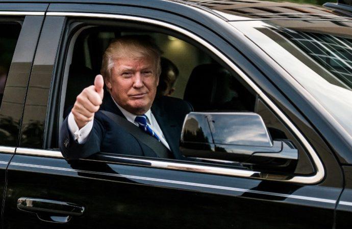 Trampov omiljeni auto – Mercedes SLR meklaren