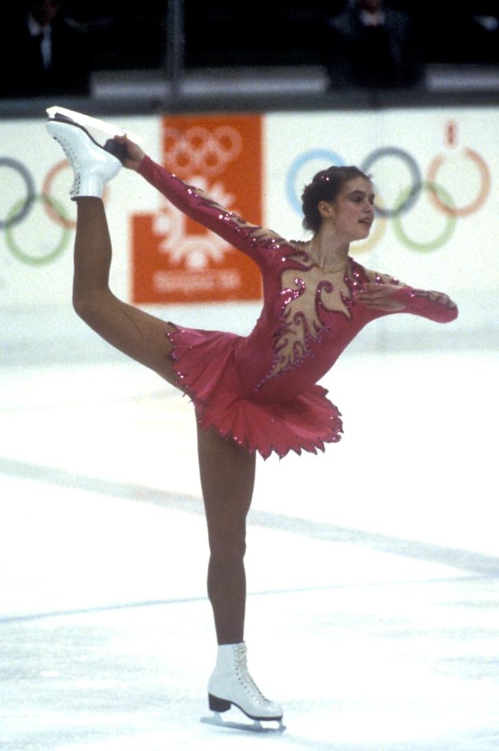 Sa 18 godina osvojila je svoje prvo olimpijsko zlato i to u Sarajevu
