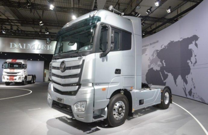 Kineski Foton i internet div Baidu predstavili samovozeći kamion