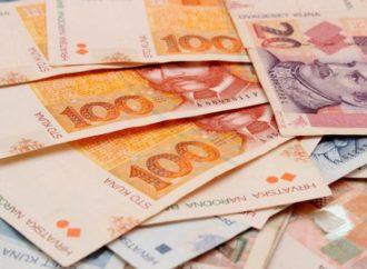 Prosječna plata u Hrvatskoj 747 EUR