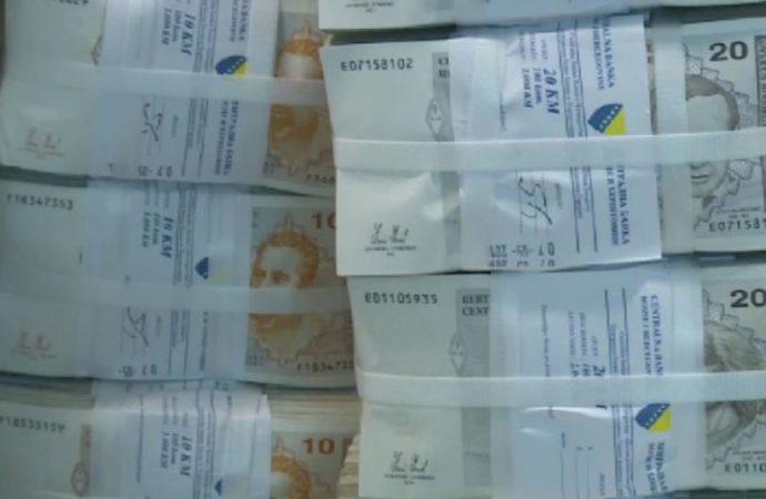 BiH: Prosječna plata u septembru 837 KM