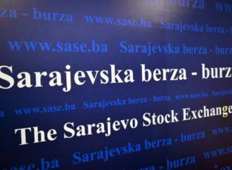 Na trgovanju na Sarajevskoj berzi ukupan promet 31.110,95 KM