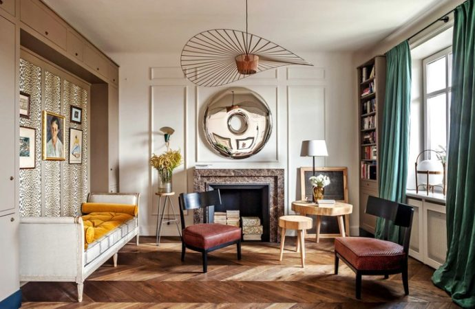 Varšavski stan u glamuroznom stilu Pariza