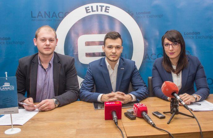Lanaco u Elite evropskom društvu