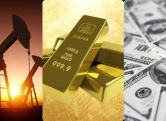 Dolar ojačao, oštar pad cijene zlata i nafte