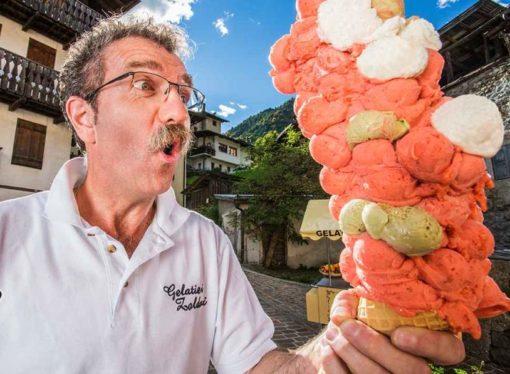 Sladoled za Ginisa: 121 kugla na jednom kornetu