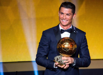 """Ronaldu četvrti put u karijeri """"Zlatna lopta"""""""