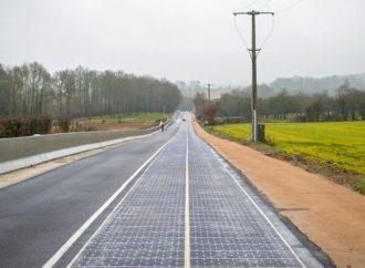Prva cesta na svijetu prekrivena solarnim panelima