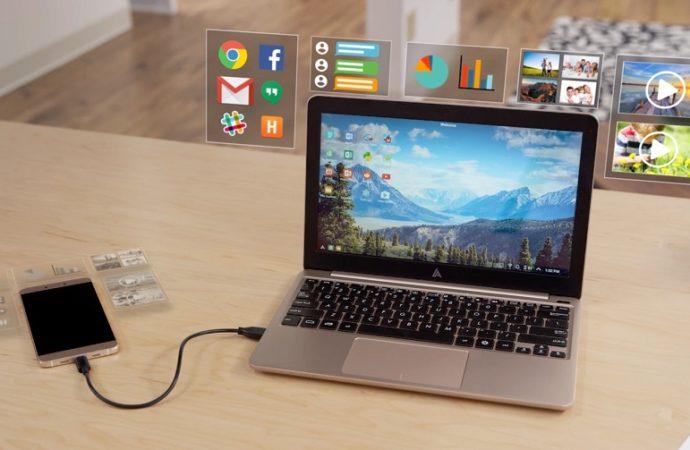 Superbook pretvara vaš smartfon u laptop!