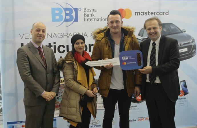 U Nagradnoj igri BBI banke i Mastercard Hyundai i20 otišao u Zenicu