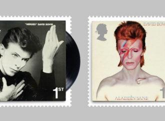 Dejvid Bouvi na britanskim poštanskim markama
