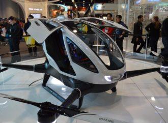 Prvi dron koji će prevoziti ljude je sigurniji od automobila