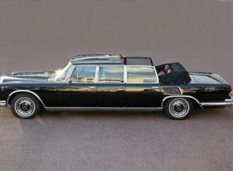 Na prodaju Titov mercedes 600, početna cijena tri miliona eura