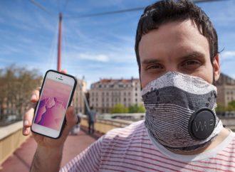 Pametni šal Wair ima ugrađenu masku sa filterima protiv zagađenja
