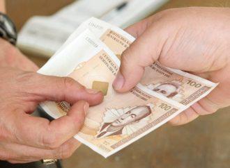 Prosečna plata u BiH 454 evra
