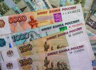 Kurs rublje porastao na manje od 60 rubalja za dolar