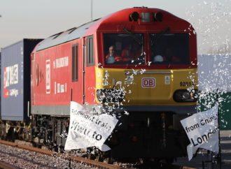 U London stigao prvi kineski teretni voz