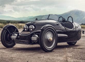 Drugačiji električni automobil: Kabriolet na tri točka