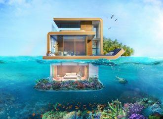 Luksuzne plutajuće vile s pogledom na morsko dno