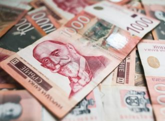 Dinar oslabio 0,1% prema euru i 0,6% u odnosu na dolar