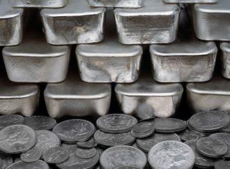 Globalna proizvodnja srebra pala, prvi put u 14 godina