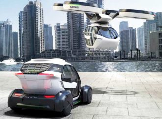 Airbusov koncept letećeg automobila predstavljen u Ženevi