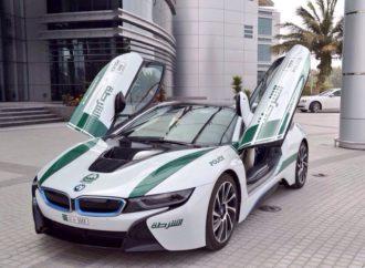 Dubai ima najbrže policijske automobile na svijetu