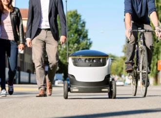 Roboti isporučuju hranu u Vašingtonu