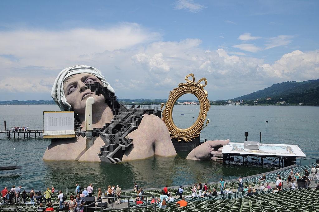Seebühne plutajuće pozorište (Bregenz)