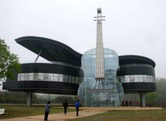 Kuća u obliku klavira i violine zasjenila nebodere