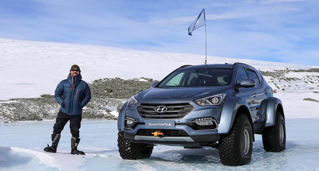 Autom preko Antarktika za 30 dana!