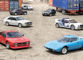 Na prodaju kolekcija legendarnih reli automobila