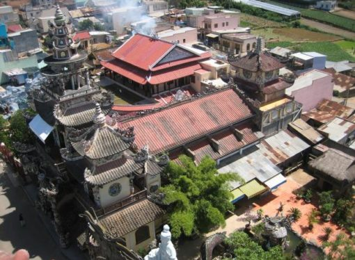Zavirite u vijetnamski hram ukrašen razbijenim pivskim flašama