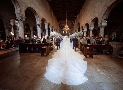 Viktorija Svarovski se udala u vjenčanici od 1.3 miliona dolara