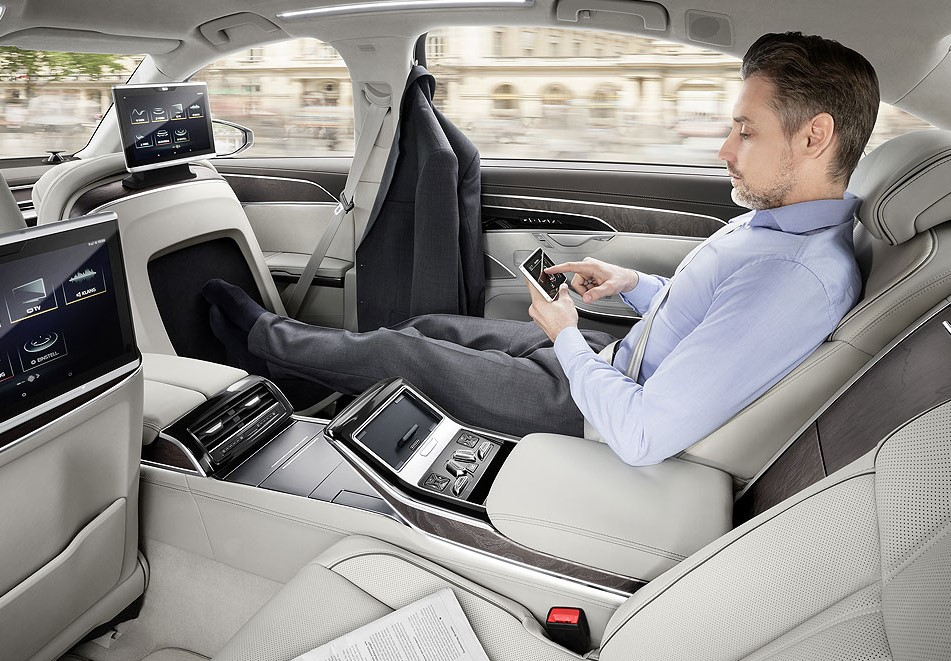 audi a8 touch