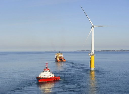 Prva plutajuća vjetroelektrana proizvodi struju