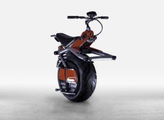 Motocikl sa 1 točkom: Nije brz, ali ćete biti primјećeni
