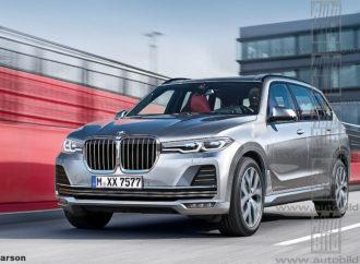 BMW X7 stiže na sajam u Frankfurtu?