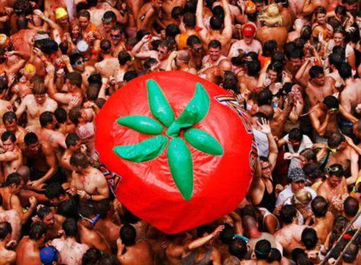 Završena španska borba paradajzom