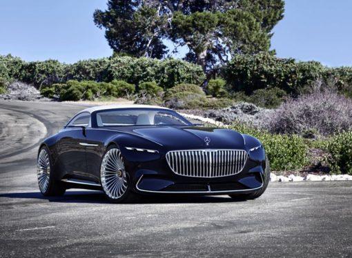 Jahta na točkovima: Mercedes-Maybach 6 Cabriolet