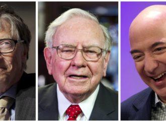 Tri Amerikanca zajedno bogatija od pola Amerike
