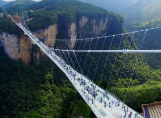 Kinezi sagradili najduži stakleni most
