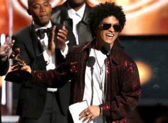 Održana 60. dodjela nagrada Gremi, Bruno Mars ubjedljiv pobjednik