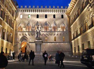 Potop akcija banke 'Monte dei Paschi di Siena'