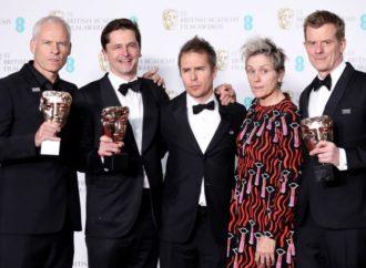 Lista dobitnika BAFTA nagrada: Pet priznanja za film Martina Mekdonea