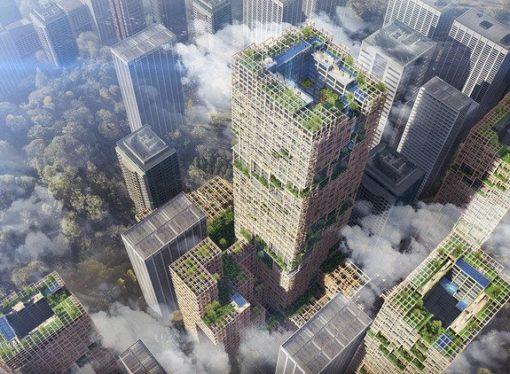 Japanci grade najviši drveni neboder