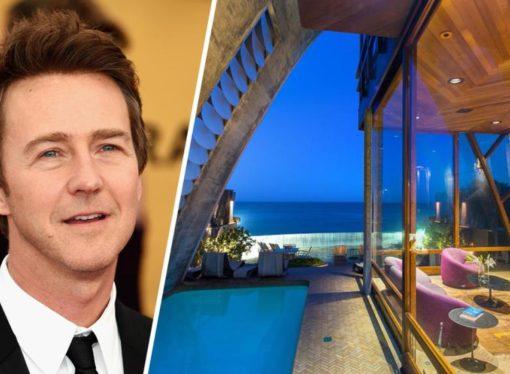 Edvard Norton prodaje vilu u Malibuu