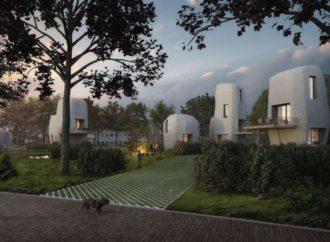 Prve 3D štampane kuće od betona grade se u Holandiji