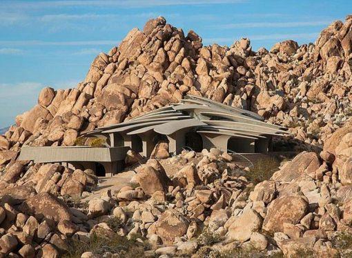 Kuća u pustinji: Građevina koja izgleda nestvarno