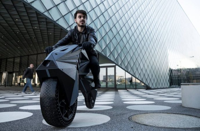 Nera je prvi motocikl napravljen na 3D štampaču